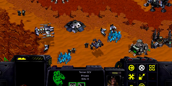 Screenshot 2 from Starcraft
