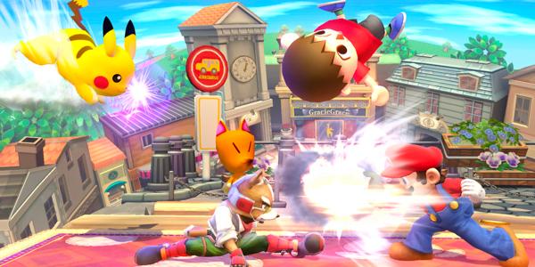 Screenshot 2 from Super Smash Bros