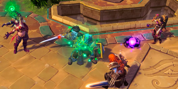 Screenshot 3 from Heroes of the Storm esports