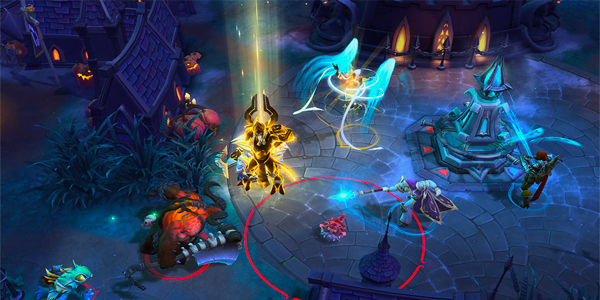 Screenshot 2 from Heroes of the Storm esports betting
