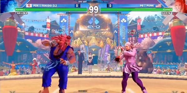 Screenshot 3 from Street Fighter V esports betting