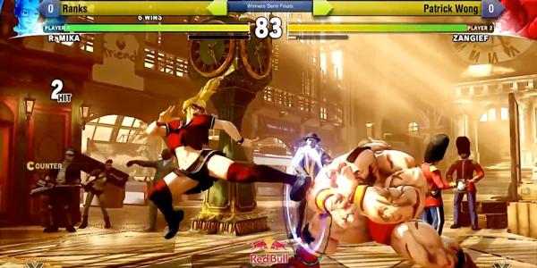 Screenshot 2 from Street Fighter V esports betting