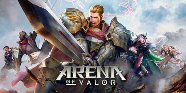 Screenshot 1 from Arena of Valor esports betting
