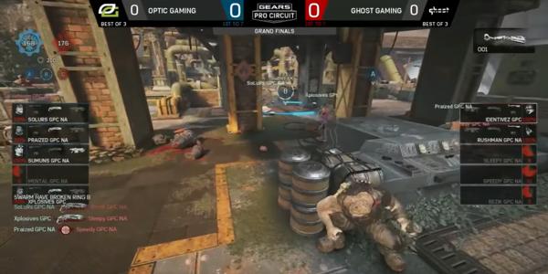 Screenshot 3 from Gears of War esports