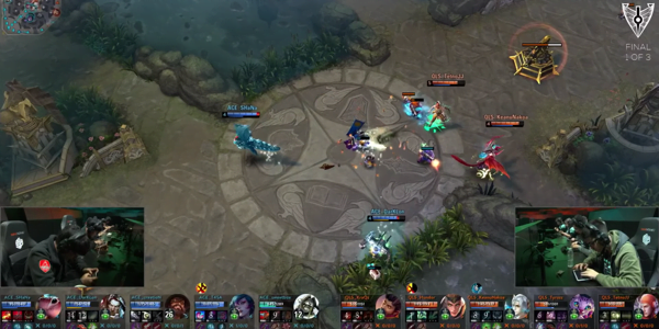 Screenshot 3 from Vainglory esports betting