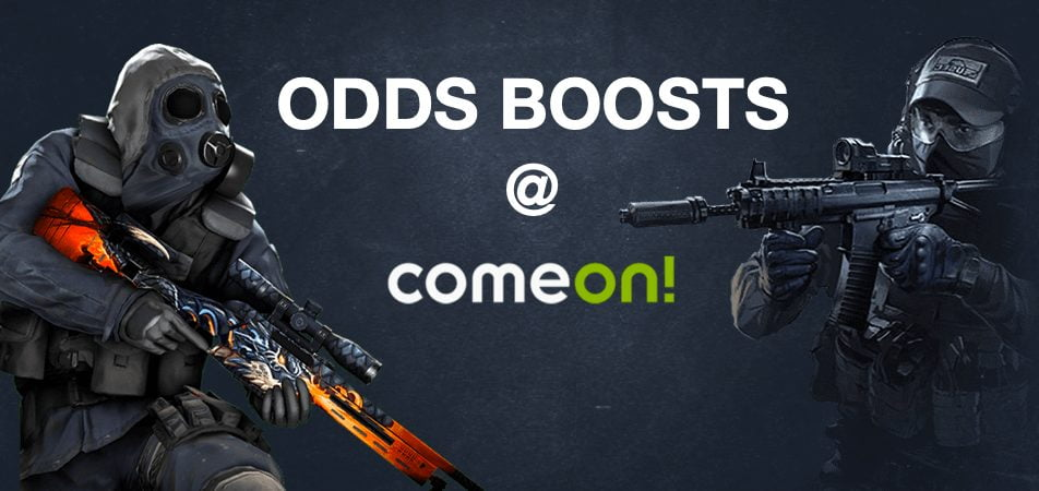Get boosted odds at ComeOn