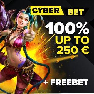 Cyber.bet esports betting offer
