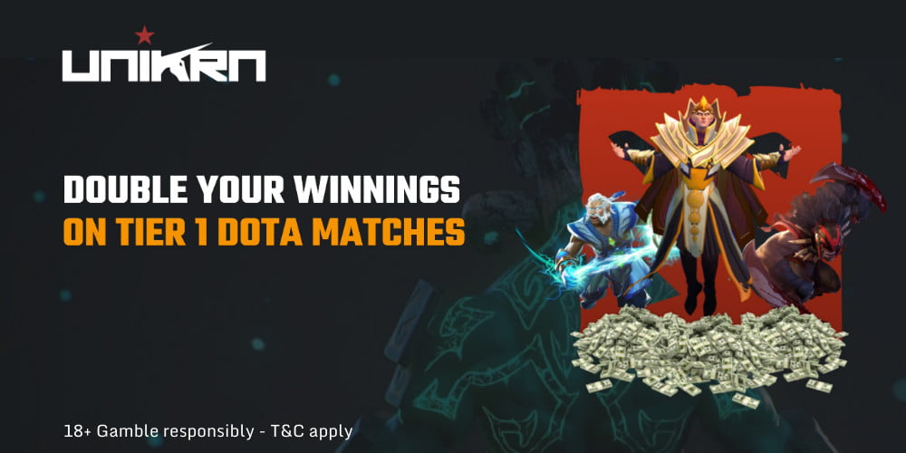 Bet on Dota 2 and double your winnings